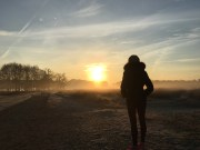 Sunrise at Richmond Park