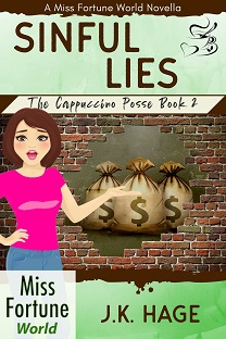 Cover image for Sinful Lies: Cappuccino Posse Book 2