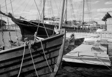 Boats in Oslo Harbour