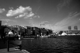 Oslo Harbour B&W