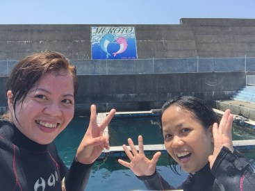 Come and visit the Muroto Dolphin Center :)