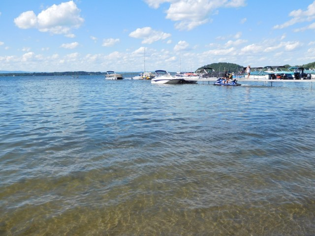 browns beach saratoga lake