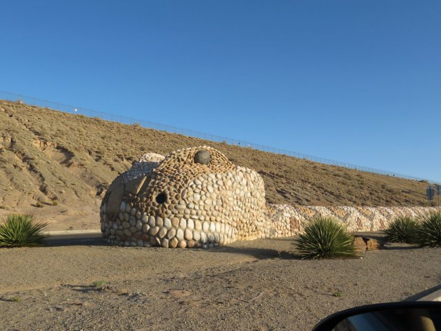 World's Largest Rattlesnake in Albuquerque, New Mexico
