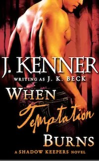 When Temptation Burns - E-Book Cover