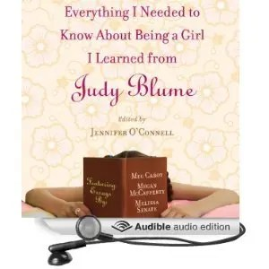 Everything I Needed to Know About Being a Girl I Learned from Judy Blume - Audiobook Download Cover