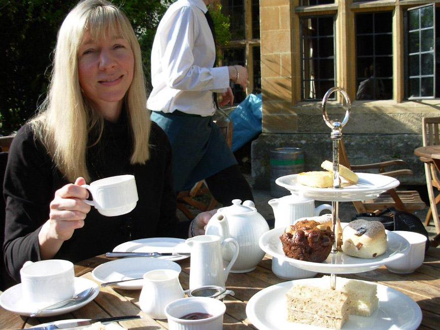 Tea at Bibury Court