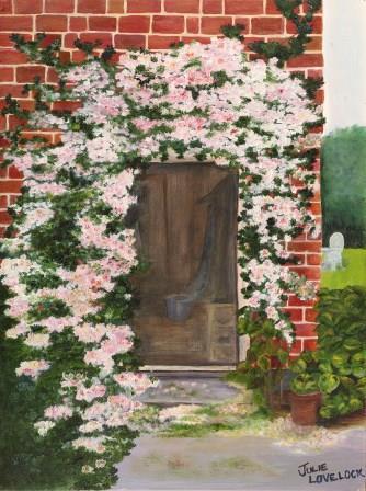 Donna's Doorway   Oil on Canvas by Julie Lovelock