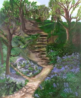 Glade on the Beacon | Oil on Canvas by Julie Lovelock