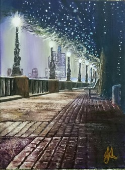 London Light | Oil on Canvas by Julie Lovelock