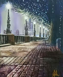 London Light | Oil on Canvas by Julie Lovelock