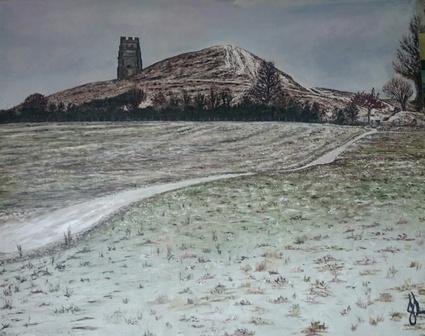 Winter Pilgrims | Oil on Canvas by Julie Lovelock