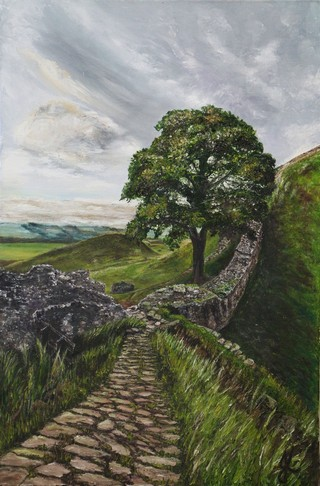 The Mighty One by Julie Lovelock - Oil on Canvas