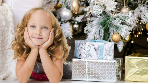 Kids, children, child, girl, Christmas, Holiday, gifts, materialistic, toys, Santa