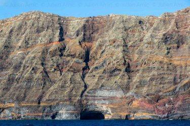 Deserta grande, une des îles Desertas, archipel de Madère.