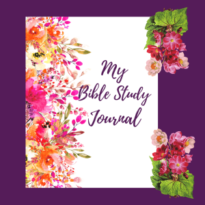 Pink Bible Study Journal