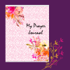 pink flower prayer journal