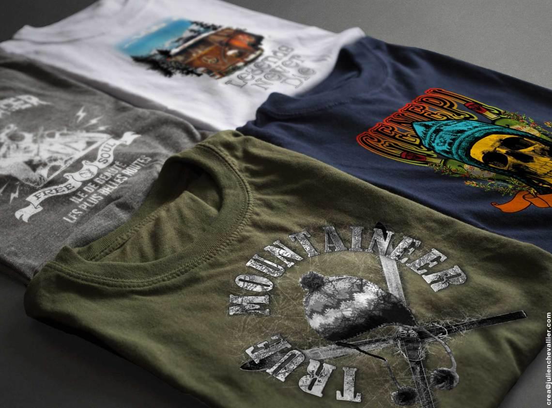 Tee shirt serigraphies