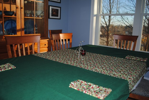 Xmas Tablecloth