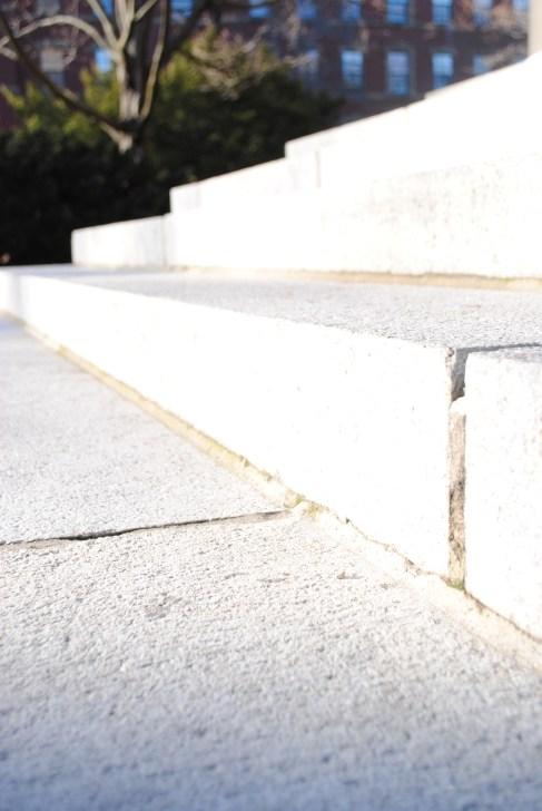 Steps at Memorial Church, Harvard Yard