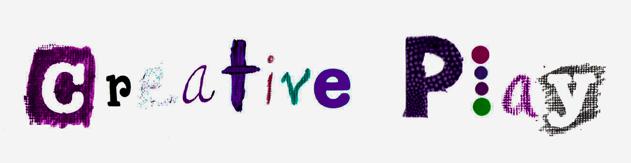 Creative Play Newsletter banner