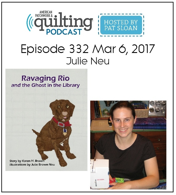 Image for Julie Neu on American Patchwork and Quilting podcast