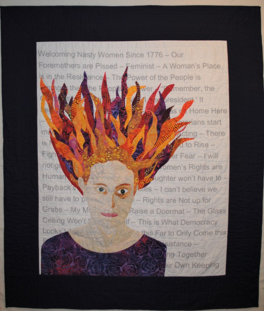 self portrait in fabric