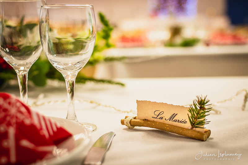 Marque-place, porte nom, décoration mariage