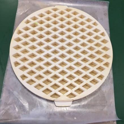 Center the lattice on the crust