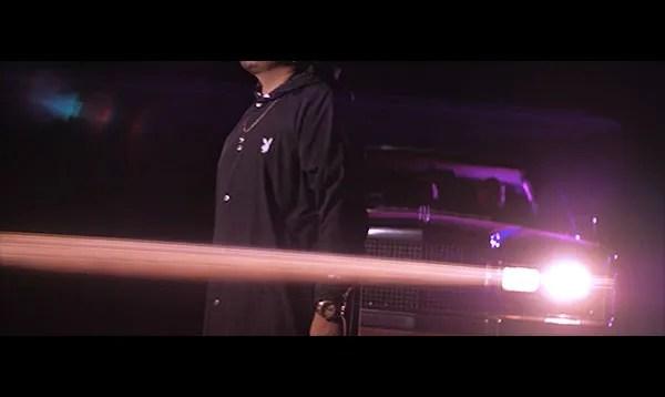 Latin Trap night shot with Lincoln car