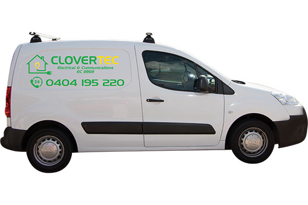 Clovertec-Electrical Company-Branded Van