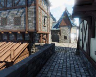 Modular Fantasy Town 1 3 release! Julien Tonsuso