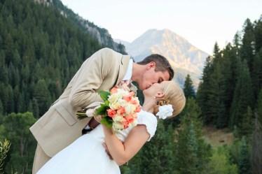 American Fork Canyon wedding