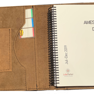 Leather Cover for 'My Awesome Diary' (sold separately)