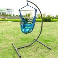 Hammock Chair With Stand Desk White Leather Top 10 Best Indoor Outdoor Stands Reviews In 2019 Oncloud Heavy Duty Hanging C