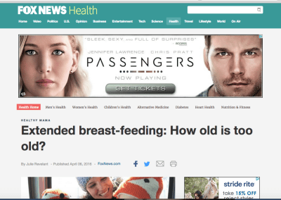 Extended Breastfeeding: How Old Is Too Old?