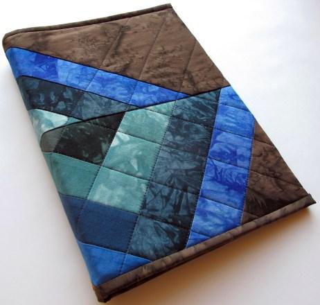 Blue/Brown Art Journal