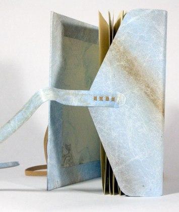 Nag Hammadi Artist's Book by Julie R. Filatoff: Wrap.
