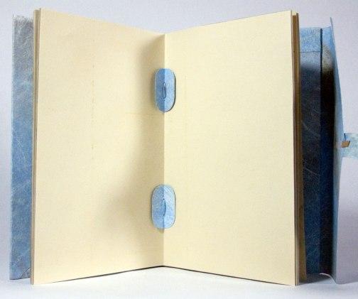 Nag Hammadi Artist's Book by Julie R. Filatoff: Tyvek tackets.