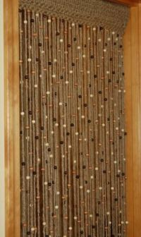 Wooden Beaded Curtains Doorways