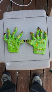 Finished hands
