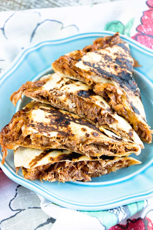 BBQ Pork Quesadillas Main