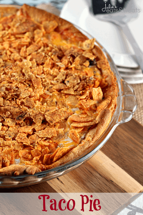 how to make taco pie with crescent rolls