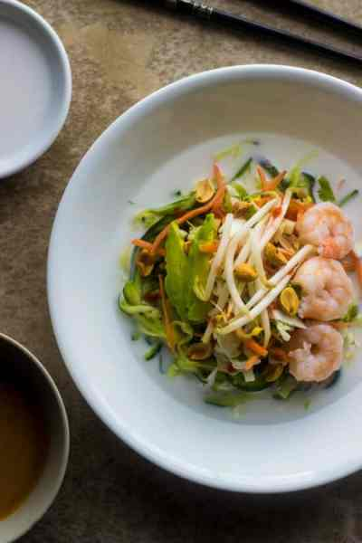 Spring Roll Zucchini Noodle Bowls - Food Faith Fitness