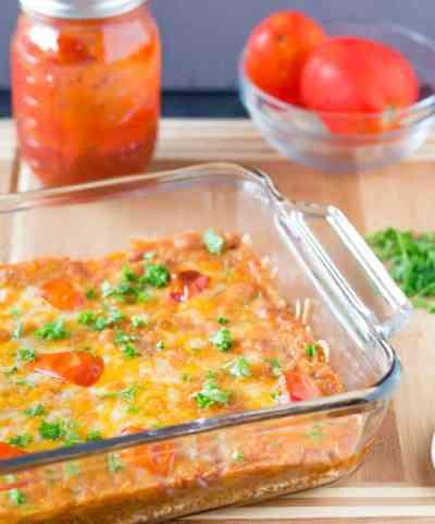 Cheesy Quinoa Casserole-5