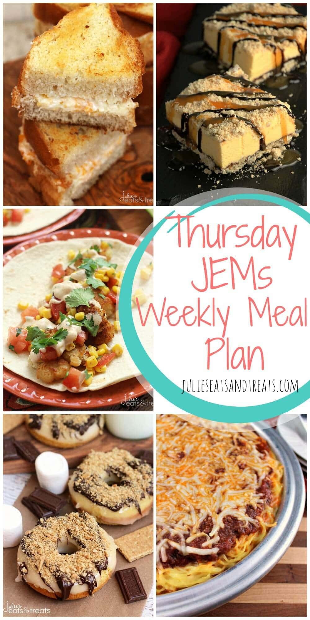 Julie's Easy Meal Plans ~ Simple every day meals for the busy family! Quick, Easy and Delicious Meals!