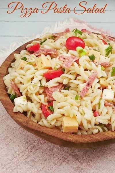 Pizza Pasta Salad-P