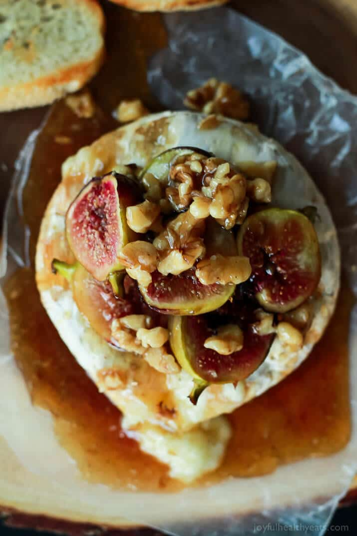 Baked-Brie-with-Roasted-Fig-Honey-Walnut-Topping-5