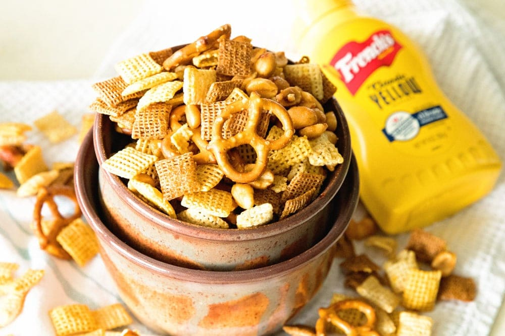 Honey Mustard Snack Mix is the best snack recipe ever!