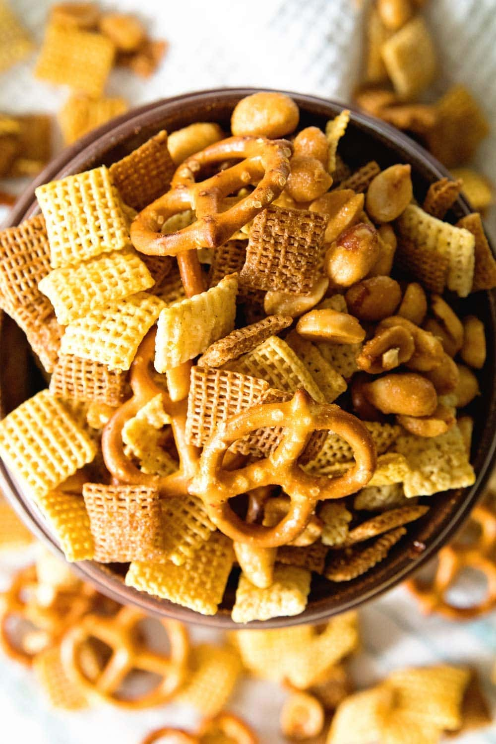 Honey Mustard Snack Mix is one of the best Snack Mix Recipes You Can Make!