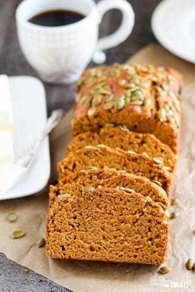 Pumpkin Bread - Celebrating Sweets